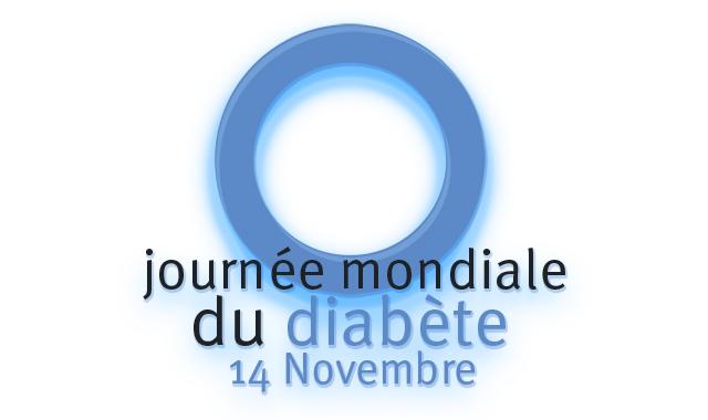 logo de la journée mondiale du diabète
