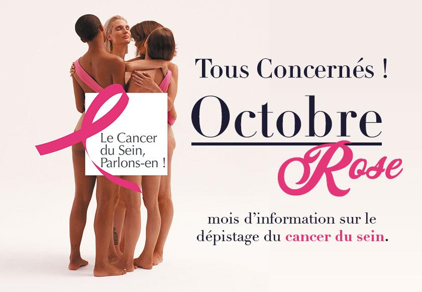 Octobre Rose : tous concernés !