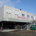 Photo bâtiment modulaire des Urgences - Façade