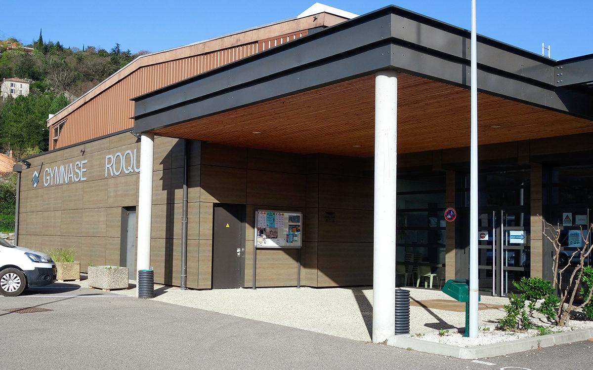 le gymnase Roqua accueille le centre de vaccination à partir du 06 avril 2021